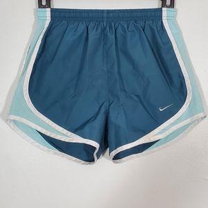 Nike Dri-Fit Dark & Light Blue Athletic Shorts